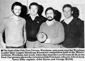 Wrexham Quiz League
